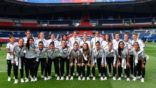 Argentina pone en marcha su ilusión en el Mundial Femenino.