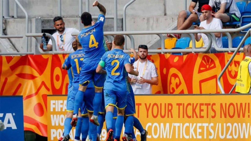La Selección de Ucrania accedió por primera vez a la Final de un Mundial Sub 20.