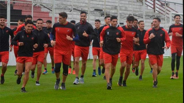El Rojinegro piensa en la próxima Superliga.