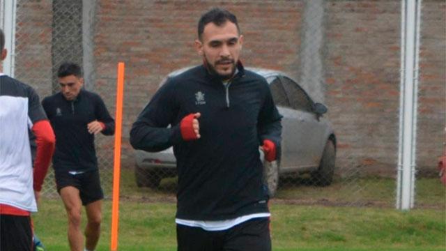 Lucas Mancinelli realizó su primera práctica.