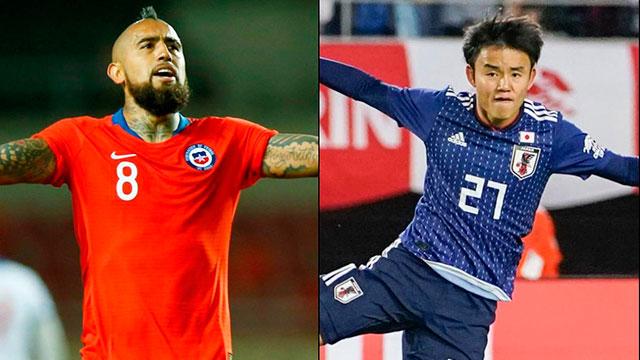 Chile debuta ante Japón y arranca la defensa del título.