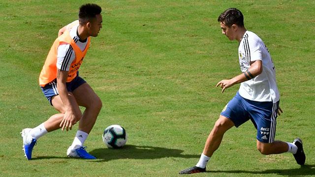 Los cambios que prepara Scaloni para buscar la primera victoria en la Copa América
