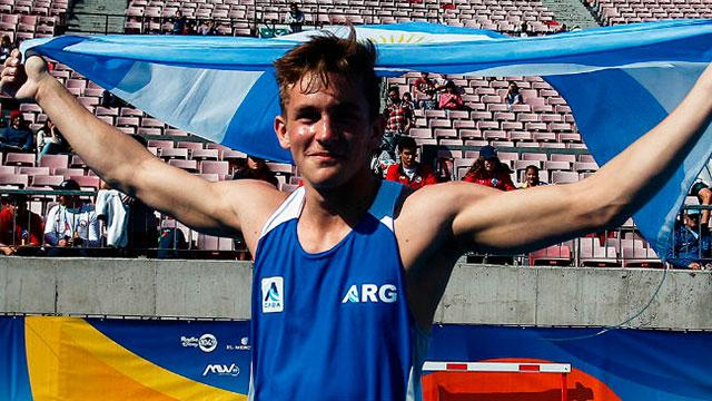 El entrerriano Pablo Zaffaroni logró la medalla de oro en Colombia.