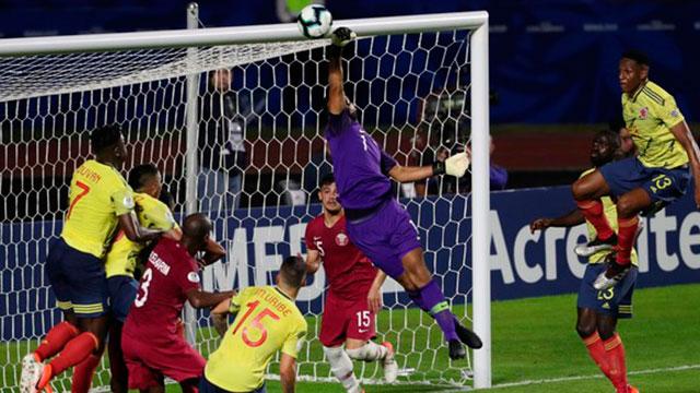 Copa América: Colombia derrotó en el final a Qatar y está en cuartos de final
