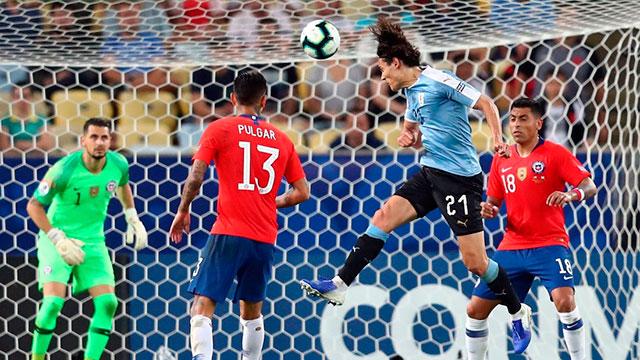 Copa América: Uruguay le ganó a Chile y se quedó con el Grupo C