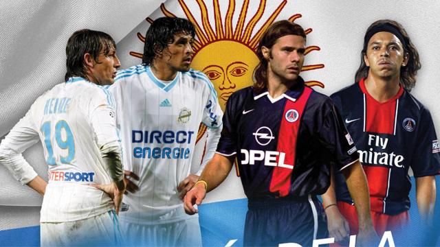 La Ligue 1 recordó el paso de Heinze, Gallardo, Pochettino y González.