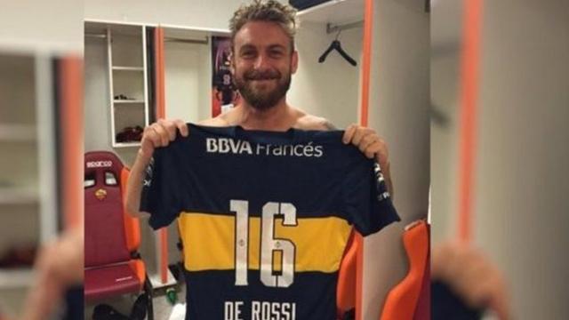 Daniele De Rossi vuelve a sonar fuerte como refuerzo de Boca