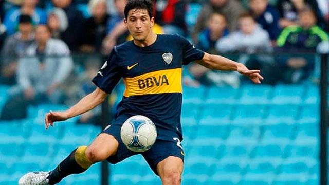 Burdisso, en su paso por Boca.