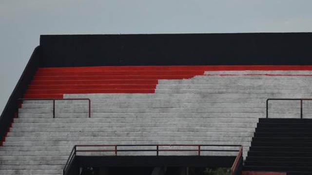 Patronato reforma el Grella y le pone color a sus tribunas para una nueva temporada