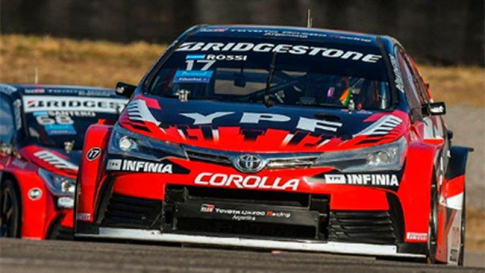 Matías Rossi fue el más rápido en la clasificación en Salta.