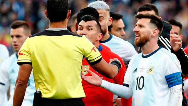 AFA envió a la Conmebol un pedido de disculpas de Messi: el martes habrá reunión