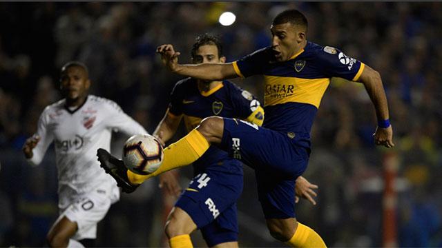 Boca le ganó a Athlético Paranaense y avanzó a cuartos.