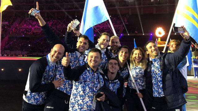 La delegación argentina hizo una brillante actuación.