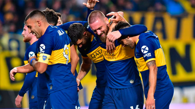 Almagro arruinó la fiesta de De Rossi y Boca (Olé).