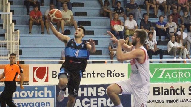 Echagüe renovó el vínculo con Alan Moreno.