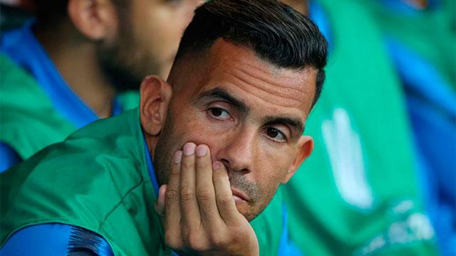 """Tevez, tras la eliminación de Boca: """"Hoy no es fácil poner la cara""""."""