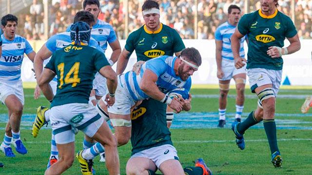 Con entrerrianos de titulares y la mente en el Mundial, Los Pumas enfrentan a Sudáfrica