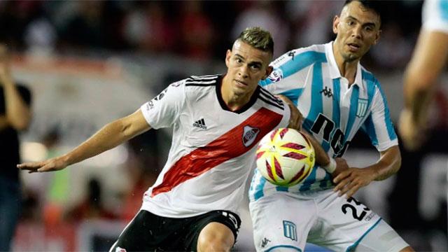 Superliga: Racing y River protagonizarán el partido más atractivo del sábado