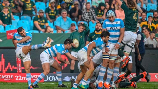 Los Pumas cayeron con Sudafrica en Pretoria.