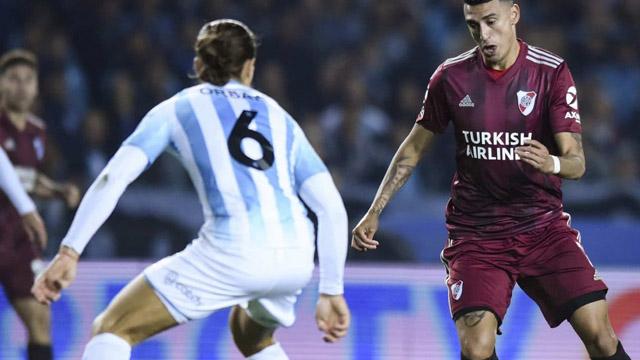 River aplasta a Racing en Avellaneda y lo golea por 6 a 1