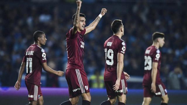 River vapuleó a Racing en Avellaneda y se impuso con un histórico 6 a 1
