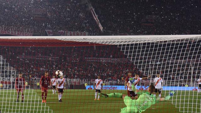 El Millonario sacó un a buena ventaja de cara a la Revancha en Paraguay.