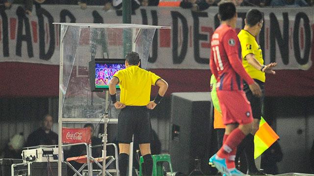 Se filtró el audio del VAR de River - Cerro Porteño y Conmebol tomó una decisión