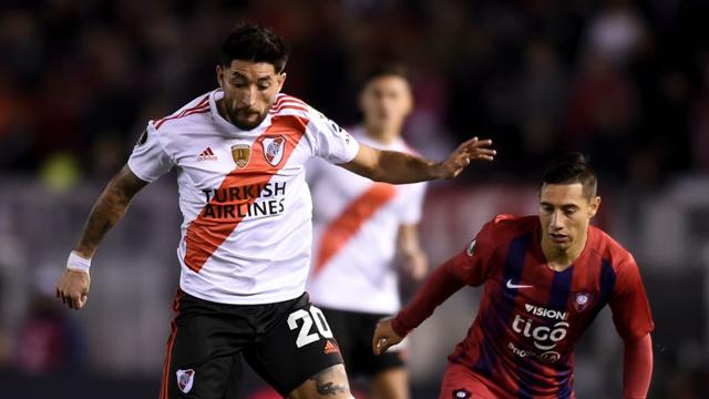 Con el entrerriano Milton Casco como figura, River venció 2 a 0 Cerro Porteño