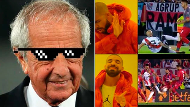 El VAR fue el gran protagonista y estallaron los memes.