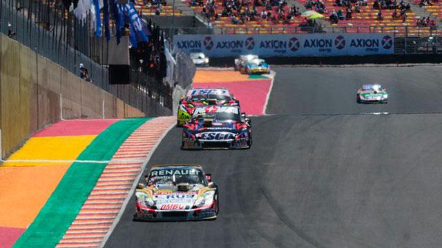 El TC llega al circuito el Villicum de San Juan.