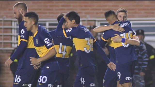 Boca se impuso como visitante por 1 a 0 frente a Banfield y es puntero