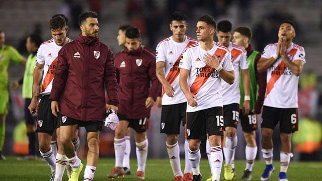 River no pudo frente a Talleres en El Monumental y perdió por 1 a 0