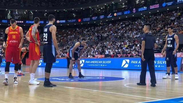 Argentina perdió con España en su último partido preparatorio.
