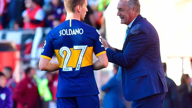 Boca: Alfaro pondrá un equipo alternativo para defender la punta ante Racing