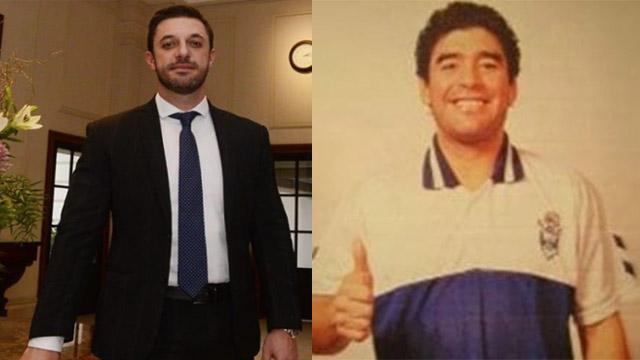 """""""Decide Diego, y está muy conforme con dirigir en la Argentina."""", dijo Molra."""