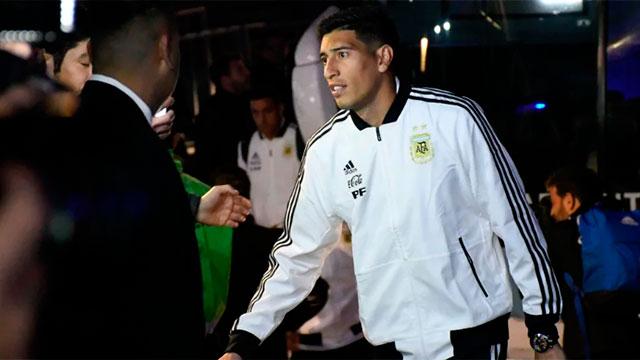Esteban Andrada será titular en el arco de la selección.