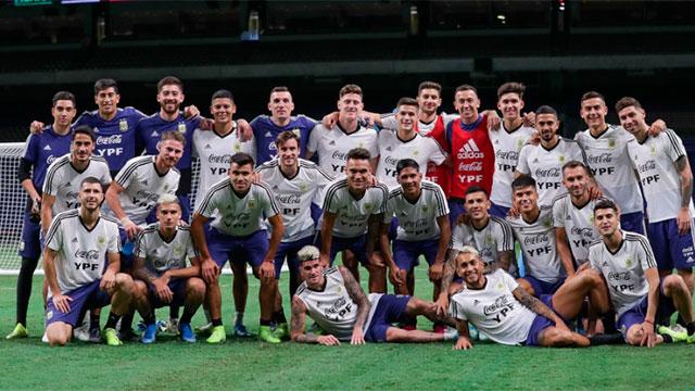 La Selección Argentina cierra su gira por Estados Unidos ante México.