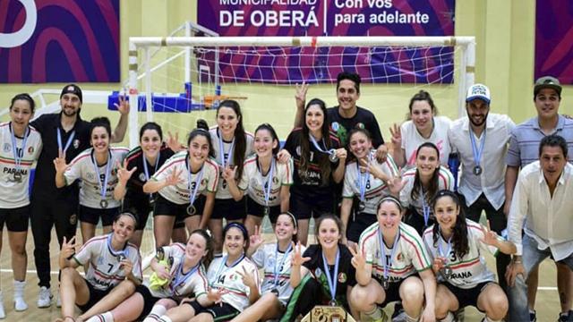 El conjunto paranaense obtuvo el tercer lugar en el certamen nacional.