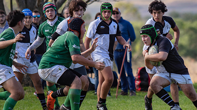 El CAE y el Verde se enfrentarán en la M19. (Foto: www.tercertiemporugby.com.ar)
