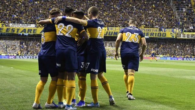 Boca superó 1 a 0 a Estudiantes y es el único puntero del campeonato