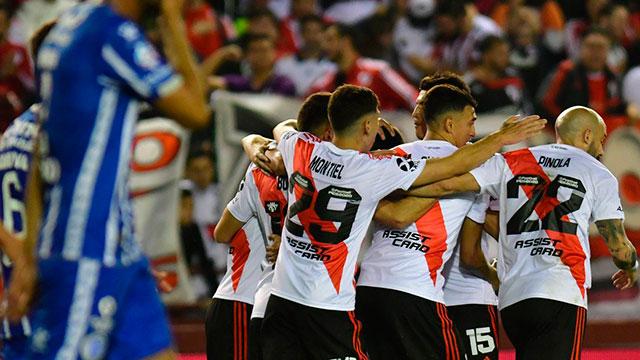 Copa Argentina: River le ganó a Godoy Cruz y avanzó a cuartos de final