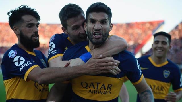 Boca derrotó a San Lorenzo con claridad y se mantiene en lo más alto de la Superliga