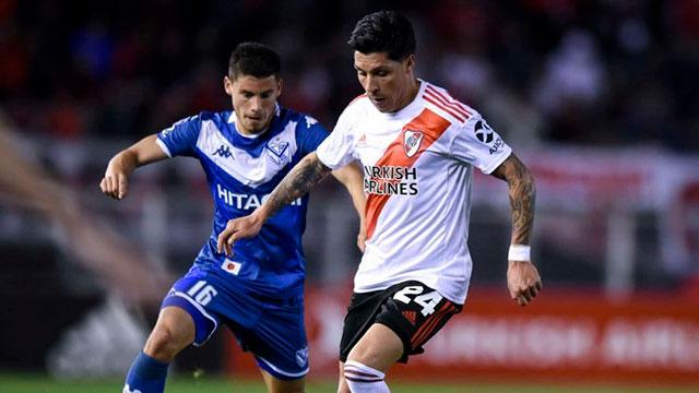 Vélez superó 2-1 a River en un partido repleto de polémicas.