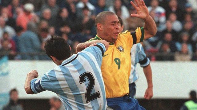 El argentino y el brasileño en sus duelos personales.