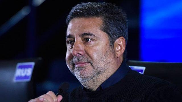 Angelici pidió por Tevez, habló del VAR y admitió charlas con Ibrahimovic e Icardi