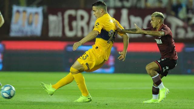 Boca perdió el liderazgo en el campeonato argentino.