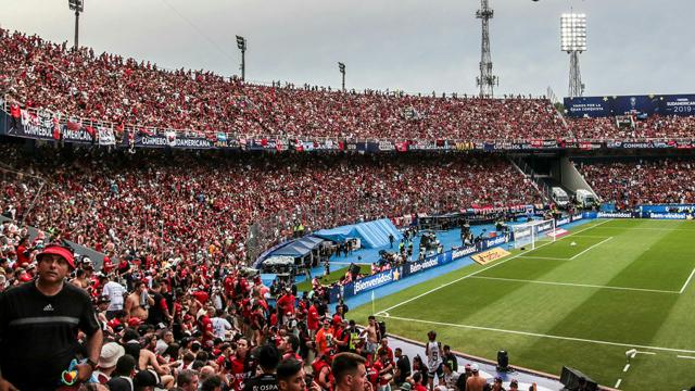 Los hinchas de Colón tendrán el récord Guinness tras la invasión a Paraguay