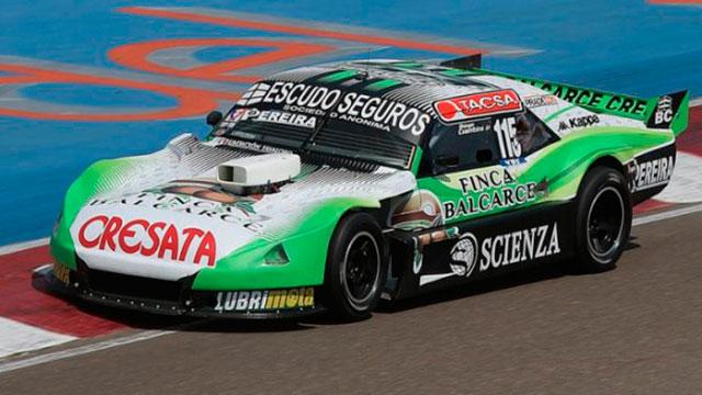 Diego Ciantini se consagró campeón del TC Pista en Neuquén.