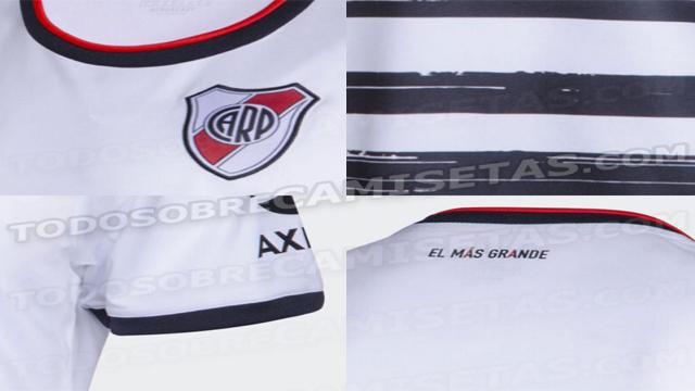 La segunda casaca alternativa que utilizaría el Millonario en 2019.