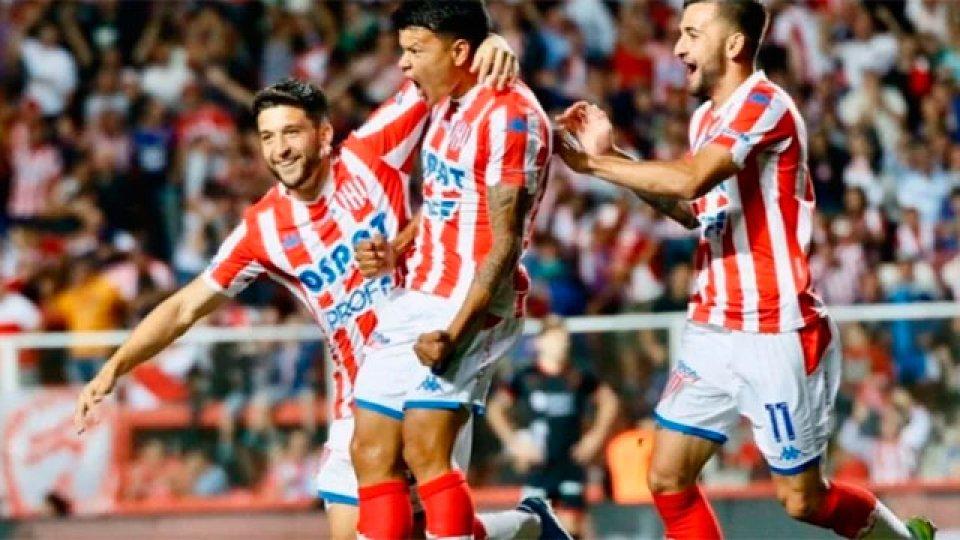 Bou marcó para el Tatengue. (Foto: Prensa Unión)